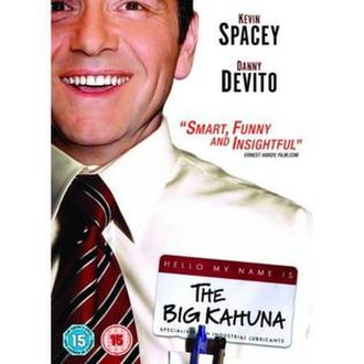 The Big Kahuna (film) - DVD cover