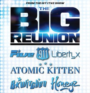 The Big Reunion (concerts) - Promotional image for the tour