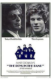 <i>The Boys in the Band</i> (1970 film) 1970 film by William Friedkin