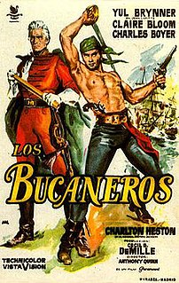 <i>The Buccaneer</i> (1958 film) 1958 film by Anthony Quinn