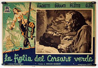 <i>The Daughter of the Green Pirate</i> 1940 film by Enrico Guazzoni
