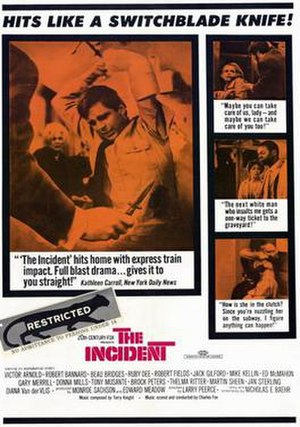 The Incident (1967 film) - Film poster