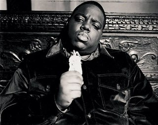 The Notorious B.I.G. American rapper from New York