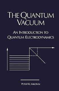 <i>The Quantum Vacuum</i> 1993 physics textbook by Peter W. Milonni