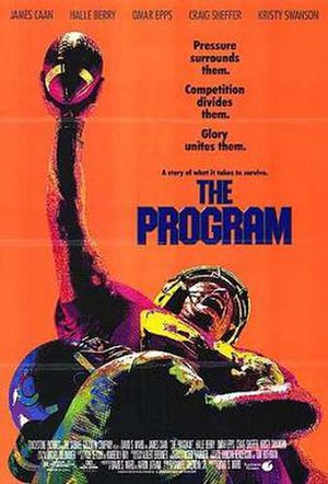 The Program (1993 film) - Theatrical release poster