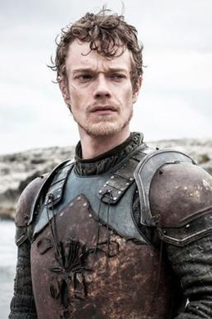 Theon Greyjoy - Theon Greyjoy portrayed by Alfie Allen