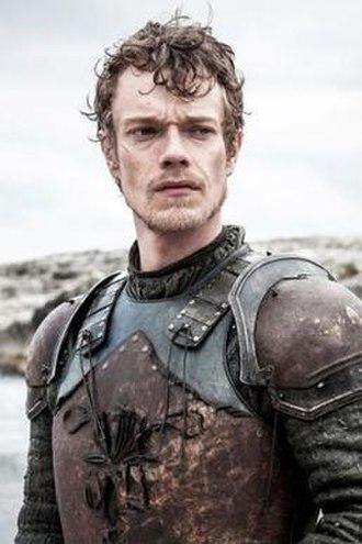 Theon Greyjoy - Alfie Allen as Theon Greyjoy