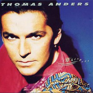 Whispers (Thomas Anders album) - Image: Thomas anders whispers cover