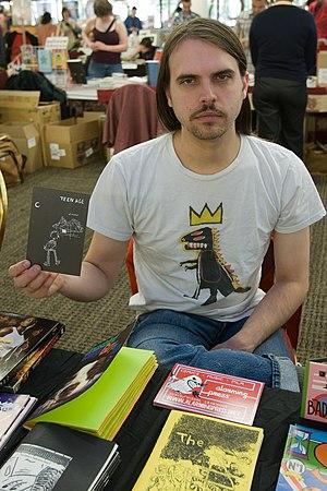 Tim Goodyear - Goodyear at the 2009 Stumptown Comics Festival.