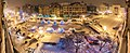 Timisoara - Victory Square at night during the Winter Fair.jpg