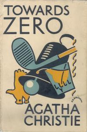 Towards Zero - Dustjacket illustration of the UK First Edition (Book was first published in the US)