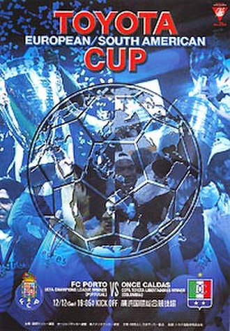 2004 Intercontinental Cup - Match programme cover