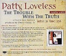 Trouble With The Truth - CD Single Cover.jpg