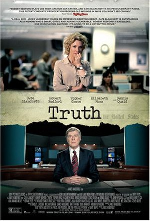 Truth (2015 film) - Theatrical release poster