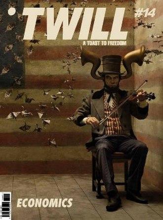 Twill (magazine) - Image: Twill (magazine) issue 14 cover
