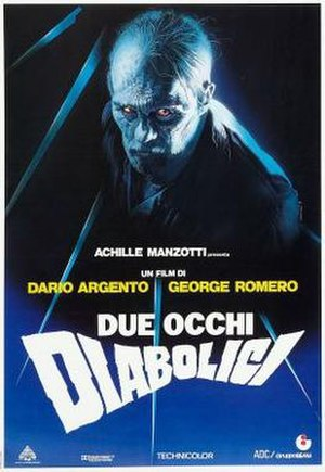 Two Evil Eyes - Italian theatrical release poster by Enzo Sciotti