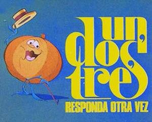 Un, dos, tres... responda otra vez - Show's mascot (Ruperta the Pumpkin) and Logo.