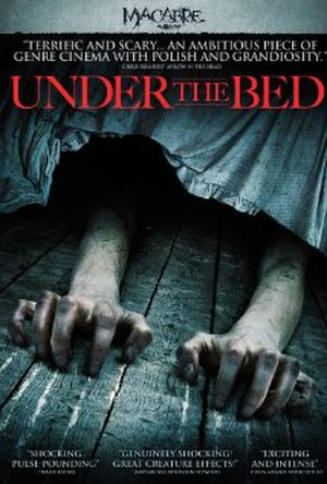 Under the Bed (2012 film) - Release poster