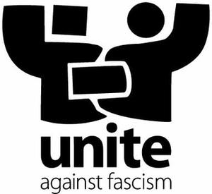 Unite Against Fascism - Image: Unite logo