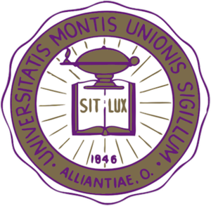University of Mount Union - Image: University of Mount Union seal