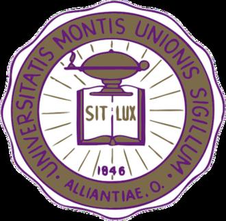 University of Mount Union - Image: University of Mount Union seal