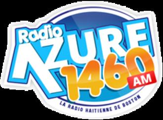 WATD (AM) - WXBR Radio Azure logo, used from 2014-2015