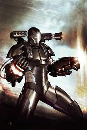 War Machine - Image: War Machine (James Rhodes)