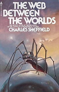 <i>The Web Between the Worlds</i> book by Charles Sheffield