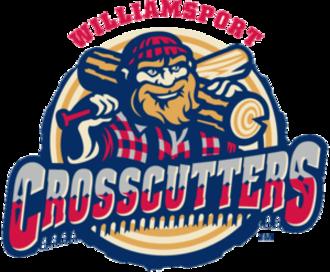 Williamsport Crosscutters - Image: Williamsport Crosscutters Logo