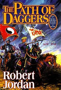 Original cover of The Path of Daggers