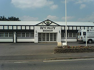 Wye Valley Brewery - The facade of Wye Valley Brewery