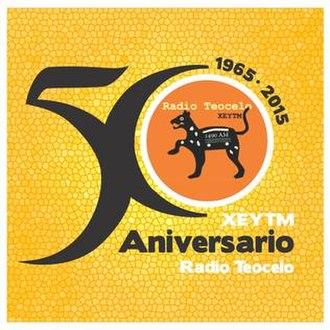 XEYTM-AM - Image: XEYTM Radioteocelo 1490 logo