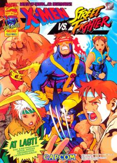 <i>X-Men vs. Street Fighter</i> 1996 video game