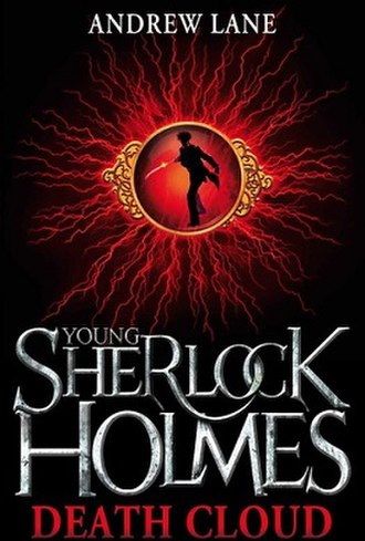 Young Sherlock Holmes (books) - The cover for the first book, Death Cloud.