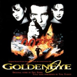 GoldenEye (soundtrack) - Image: 007GEsoundtrack