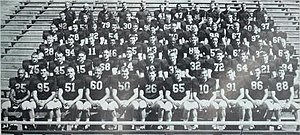 1964 Illinois Fighting Illini football team - Image: 1964 Illinois Fighting Illini football team
