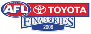 2006 AFL finals series - Logo of the 2006 AFL Finals Series