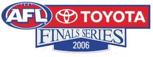 2006 AFL finals series - Logo of the 2006 AFL Finals Series