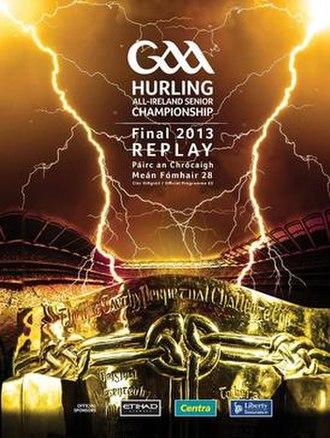 2013 All-Ireland Senior Hurling Championship Final - Image: 2013 All Ireland Senior Hurling Championship Final prog replay