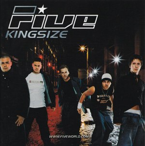 Kingsize (Five album) - Image: 5ive Kingsize