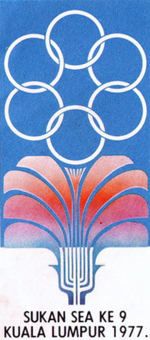 1977 Southeast Asian Games - Image: 9th sea games