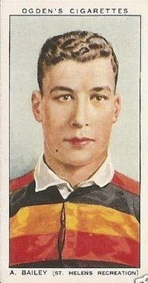 St Helens Recreation RLFC - Albert Bailey, an early Recs player and international
