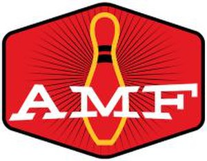 AMF Bowling Center - Logo used by AMF-branded bowling centers in the US