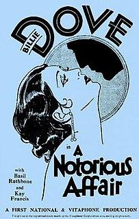 <i>A Notorious Affair</i> 1930 film