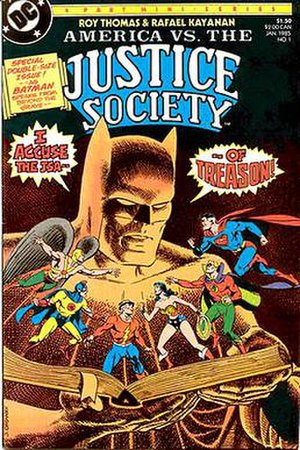 America vs. the Justice Society - Image: Am Vs JS01