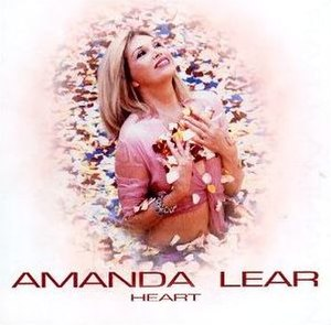 Heart (Amanda Lear album) - Image: Amanda Lear Heart (alternate)