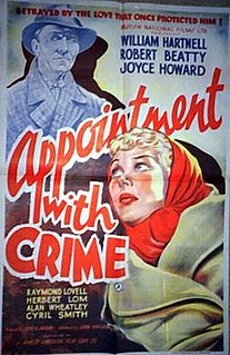 <i>Appointment with Crime</i>