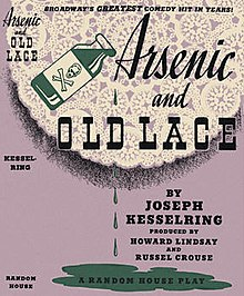 Arsenic and old lace play script download