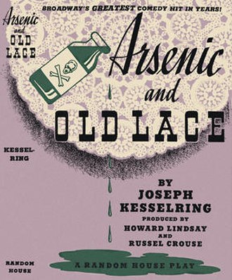 Arsenic and Old Lace (play) - First edition, 1941
