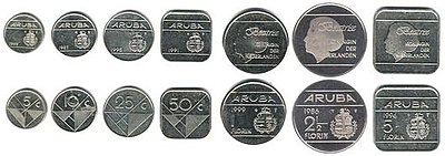 Aruban money coins before 2005.jpg